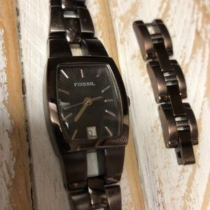 Fossil Oil Rubbed Bronze Watch
